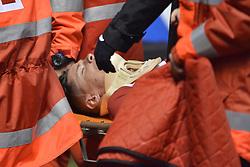March 2, 2017 - La Coruna, Spain - Fernando Torres is taken away from the field La Liga Santander Matchday 25. Riazor Stadium, La Coruna, Spain. March 02, 2017. (Credit Image: © Monica Arcay Carro/VW Pics via ZUMA Wire/ZUMAPRESS.com)