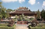Royal Library or Emperors Reading Room (Thai Binh Lau), Imperial City, Citadel, Hue, Vietnam