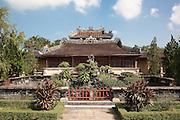 Royal Library or Emperor's Reading Room (Thai Binh Lau) in the Forbidden Purple City, Hue Citadel / Imperial City, Hue, Vietnam
