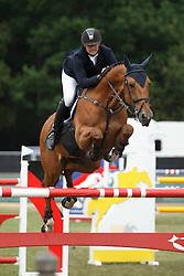 Cox Karel, (BEL), Cor vd Wateringhoeve <br /> Grand Prix Meritt Capital<br /> Jumping Kapellen 2015<br /> © Hippo Foto - Dirk Caremans<br /> 12/07/15