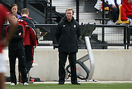 04 December 2011: Stanford head coach Paul Ratcliffe. The Stanford University Cardinal defeated the Duke University Blue Devils 1-0 at KSU Soccer Stadium in Kennesaw, Georgia in the NCAA Division I Women's Soccer College Cup Final.