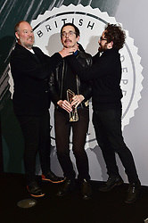 Jim Hosking, Ant Timpson and Toby Harvard bei den British Independent Film Awards in London / 041216<br /> <br /> <br /> *** at the British Independent Film Awards in London on December 4th, 2016 ***