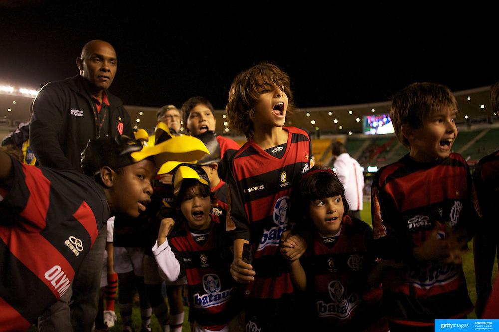 during the Flamengo V  Ceara, Futebol Brasileirao  League match at the Jornalista Mário Filho Stadium, Rio de Janeiro,  Brazil. 14th August 2010. Photo Tim Clayton.