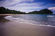 Beach in Manuel Antonio National Park in Costa Rica