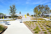 Playground Area At The Great Park In Irvine