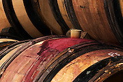 silicone bung on barrel clos des langres ardhuy nuits-st-georges cote de nuits burgundy france