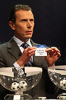 FOOTBALL - MISCS - UEFA CHAMPIONS LEAGUE 2010 - 1/8 FINAL DRAW - 18/12/2009 - PHOTO DPPI - EMILANO BUTRAGUENIO DURING THE 1/8 FINAL'S DRAW