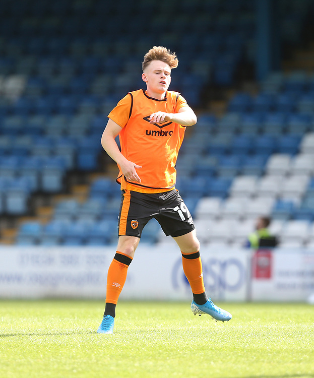 Hull City's Keane Lewis-Potter during the warm-up<br /> <br /> Photographer Rob Newell/CameraSport<br /> <br /> The EFL Sky Bet League One - Gillingham v Hull City - Saturday September 12th 2020 - Priestfield Stadium - Gillingham<br /> <br /> World Copyright © 2020 CameraSport. All rights reserved. 43 Linden Ave. Countesthorpe. Leicester. England. LE8 5PG - Tel: +44 (0) 116 277 4147 - admin@camerasport.com - www.camerasport.com