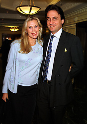COUNT & COUNTESS ALESSANDRO GUERRINI-MARALDI, she is the model Catrina Skepper, at a fashion show in London on 30th September 1999.MWZ 64