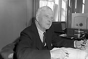 6th April 1964<br /> <br /> Minister for Finance James Ryan.
