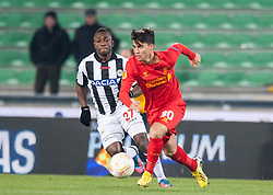06.12.2012, Stadio Friuli, Udine, ITA, UEFA EL, Udinese Calcio vs FC Liverpool, Gruppe A, im Bild Pablo Armero (# 27, Udinese Calcio), Suso (# 30, Liverpool FC) // during the UEFA Europa League group A match between Udinese Calcio and Liverpool FC at the Stadio Friuli, Udinese, Italy on 2012/12/06. EXPA Pictures © 2012, PhotoCredit: EXPA/ Juergen Feichter
