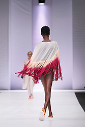 Johannesburg 251018 Day 3 of the 21st SA Fashion week is taking place in Sandton North of Johannesburg.BRICS countries designers show cased their work.Photo Simphiwe Mbokazi/African News Agency ANA w
