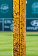 Pesky's Pole in Fenway Park.