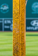 Pesky's Pole in Fenway Park.