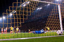 01.11.2011, Signal Iduna Park, Dortmund, GER, UEFA Champions League, Vorrunde, Borussia Dortmund (GER) vs Olympiacos Piraeus (GRE), im Bild 1-0 durch Kevin Grosskreutz (#19 Dortmund) // during Borussia Dortmund (GER) vs Olympiacos Piraeus (GRE) at Signal Iduna Park, Dortmund, GER, 2011-11-01. EXPA Pictures © 2011, PhotoCredit: EXPA/ nph/  Kurth       ****** out of GER / CRO  / BEL ******