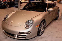 08 February 2007: 2007 Porsche 911 Carrera 4S Cabriolet. The Chicago Auto Show is a charity event of the Chicago Automobile Trade Association (CATA) and is held annually at McCormick Place in Chicago Illinois.