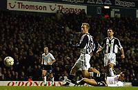 Fotball, 29. januar 2003, Tottenham Spurs v Newcastle, FA Barclaycard Premiership, White Hart Lane, Gus Poyety, Newcastle<br />Foto:  Javier Garcia, Digitalsport