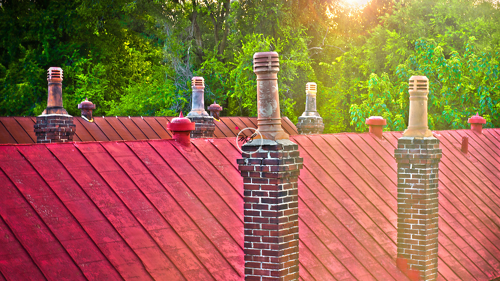Rooftop Chimneys