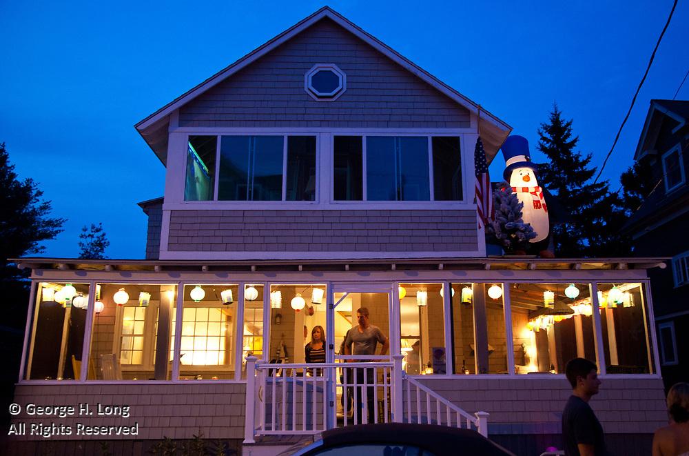 Illumination Night in Ocean Park, Maine