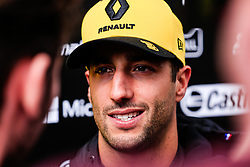 February 19, 2019 - Montmelo, BARCELONA, Spain - Daniel Ricciardo from Australia with 03 Renault F1 Team RS19 portrait during the Formula 1 2019 Pre-Season Tests at Circuit de Barcelona - Catalunya in Montmelo, Spain on February 19. (Credit Image: © AFP7 via ZUMA Wire)