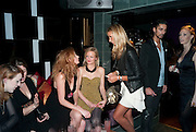 OLIVIA INGE; ALEXIA INGE; LADY VICTORIA HERVEY, The Tatler Little Black Book party. Chinawhite club. London. 21 November 2009