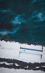 THEMENBILD - Sperre beim Eugenisee, aufgenommen am 15. Dezember 2018 in Engelberg, Schweiz // barrier at the Eugenisee, Engelberg, Switzerland on 2018/12/15. EXPA Pictures © 2018, PhotoCredit: EXPA/ JFK