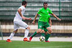 Matevz Fortin of ND Ilirija during football match between ND Ilirija 1911 and NK Krsko in 1st Round of Slovenian Football Cup 2017/18, on August 16, 2017 in Stadium Ilirija, Ljubljana, Slovenia. Photo by Vid Ponikvar / Sportida