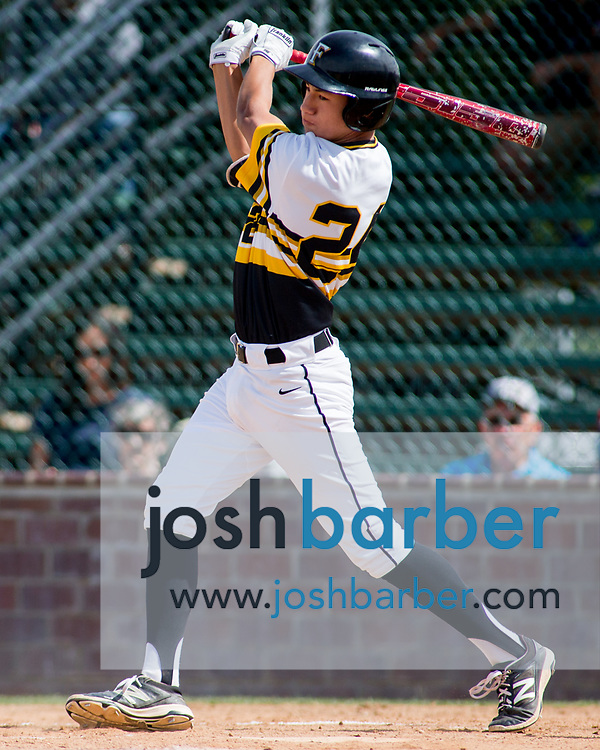 Foothill's Chad Castillo during a Crestview League game at Foothill High School on Friday, May 5, 2017 in North Tustin, Calif. Foothill won 4-2. (Photo by Josh Barber, Contributing Photographer)