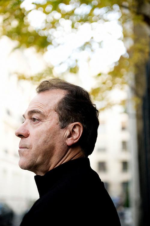 Antoine Di Zazzo, Taser's CEO in France, at his office - Paris, november 13, 2008 - photo: Antoine Doyen