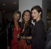 Cynthia Conran, Julie Brangstrup and Jasmine Guinness, The Eve Appeal Dinner, Nobu London,  Dinner in aid of Eve Appeal, Gynaecology Cancer Research Fund, 3 September 2007. -DO NOT ARCHIVE-© Copyright Photograph by Dafydd Jones. 248 Clapham Rd. London SW9 0PZ. Tel 0207 820 0771. www.dafjones.com.