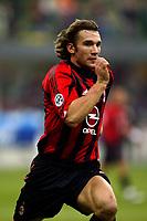 Fotball<br /> Serie A Italia 2004/2005<br /> Foto: Graffiti/Digitalsport<br /> NORWAY ONLY<br /> <br /> Mialno 6/1/2005<br /> <br /> Milan Lecce 5-2 <br /> Ac Milan Andriy Shevchenko