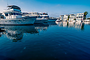 Boats at Canary Village in Newport Beach