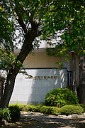 Entrance to the Nichido Museum of Art, Kasama city, Ibaraki, Japan, May 10, 2013.