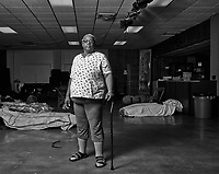 Desiree, Director of the Women and Children's Shelter in Middle Tennessee. Part of a project documenting the Medicaid Gap in Tennessee and how it is effected people with pre-existing conditions and those just at the poverty line who cannot get state benefits.