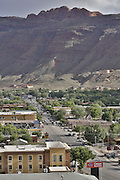 SHOT 5/7/16 5:57:34 PM - Moab is a city in Grand County, in eastern Utah, in the western United States. Moab attracts a large number of tourists every year, mostly visitors to the nearby Arches and Canyonlands National Parks. The town is a popular base for mountain bikers and motorized offload enthusiasts who ride the extensive network of trails in the area. Includes images of Scenic Byway 128, Fisher Towers and downtown Moab. (Photo by Marc Piscotty / © 2016)