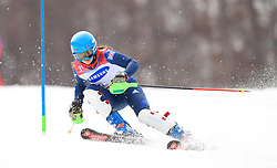 Great Britain's Menna Fitzpatrick on her way gold in the Women's Slalom, Visually Impaired at the Jeongseon Alpine Centre during day nine of the PyeongChang 2018 Winter Paralympics in South Korea.