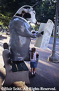 Cattle Theme Art Harrisburg, PA City Center
