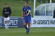 Dan Lugassy of Israel (4) during the UEFA European Under 17 Championship 2018 match between Israel and Italy at St George's Park National Football Centre, Burton-Upon-Trent, United Kingdom on 10 May 2018. Picture by Mick Haynes.