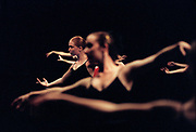 Girls 14 to 16 years old from across the country go through an exercise during a Pointe class at the American Ballet Theater's Summer Intensive dance program held at the Orange County Performing Arts Center in Costa Mesa, CA.