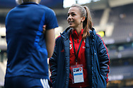 Lia Walti before the FA Women's Super League match between Tottenham Hotspur Women and Arsenal Women FC at Tottenham Hotspur Stadium, London, United Kingdom on 17 November 2019.