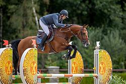 Snels Zoi, NED, Ladykiller<br /> Nationaal Kampioenschap KWPN<br /> 4 jarigen springen final<br /> Stal Tops - Valkenswaard 2020<br /> © Hippo Foto - Dirk Caremans<br /> 19/08/2020
