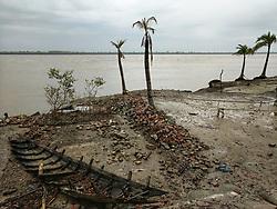 May 3, 2019 - Dhaka, Bangladesh - Cyclone Fani hits Dhaka, Bangladesh, on May 4, 2019. At least eight people have killed as Cyclone Fani hits into Odisha, India. The Cyclone approach towards in Bangladesh. (Credit Image: © Zakir Hossain Chowdhury/NurPhoto via ZUMA Press)