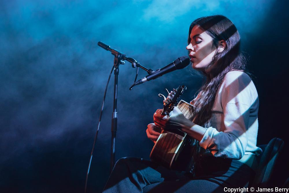 New York singer-songwriter Julie Byrne performs live at Union Chapel, London, on Monday 13 November 2017.