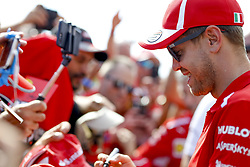 June 21, 2018 - Le Castellet, France - Motorsports: FIA Formula One World Championship 2018, Grand Prix of France, .#5 Sebastian Vettel (GER, Scuderia Ferrari) (Credit Image: © Hoch Zwei via ZUMA Wire)