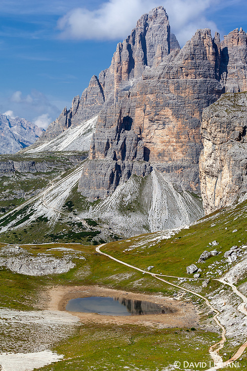 """Between 1915 and 1917 World War 1 took place on the Dolomites. According to """"Wikipedia"""" - the high peaks of the Dolomites range were an area of fierce mountain warfare. In order to protect their soldiers from enemy fire and the hostile alpine environment, both Austro-Hungarian and Italian military engineers constructed fighting tunnels which offered a degree of cover and allowed better logistics support."""