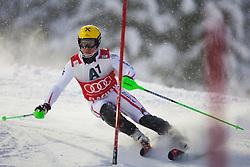 21.12.2011, Hermann Maier Weltcup Strecke, Flachau, AUT, FIS Weltcup Ski Alpin, Herren, Slalom 1. Durchgang, im Bild Marcel Hirscher (AUT) in Aktion // Marcel Hirscher of Austria in action during Slalom race 1st run of FIS Ski Alpine World Cup at 'Hermann Maier World Cup' course in Flachau, Austria on 2011/12/21. EXPA Pictures © 2011, PhotoCredit: EXPA/ Johann Groder