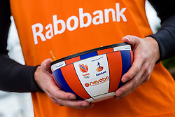 28-03-2018 NED: Kickstart Food van Rabobank, Utrecht<br /> A clever mix of the tastiest seasonal vegetables for the sports public, coming from Dutch local companies. That is the core of the new food program that enables Rabobank and the Nevobo at the Moestuin in Utrecht / volley bowl