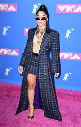 Hennessy Carolina arriving at the MTV Video Music Awards 2018, Radio City, New York. Photo credit should read: Doug Peters/EMPICS