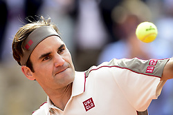 May 29, 2019 - Paris, France, FRANCE - joie de Roger Federer  (Credit Image: © Panoramic via ZUMA Press)