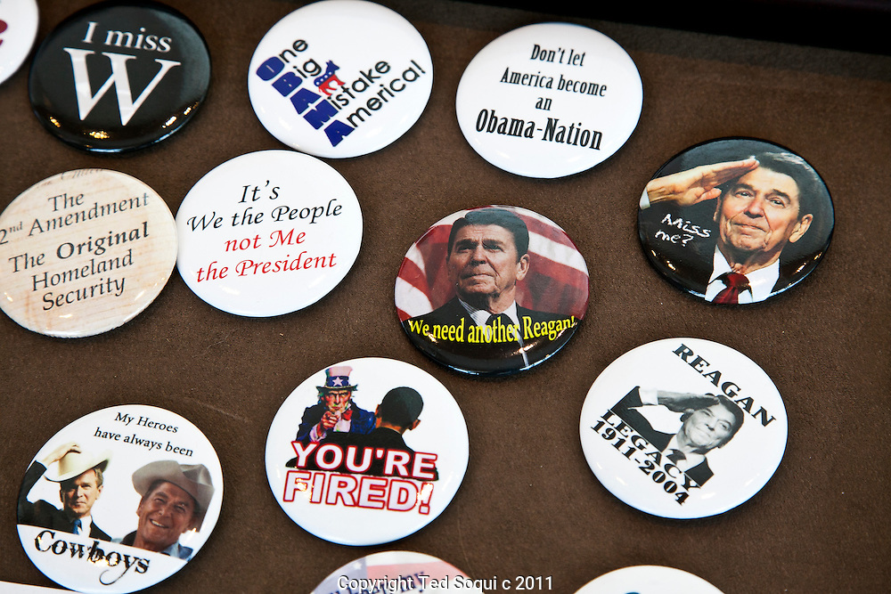 Scenes from the California Republican Convention held at the Marriott hotel in downtown L.A.